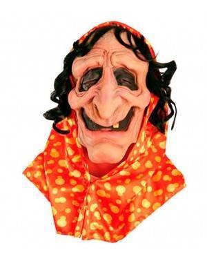 Maschera Strega Zingara in Lattice per Carnevale