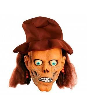Maschera Teschio Pirata con Cappello in Lattice