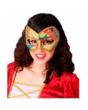Maschera Veneziana Arlecchino