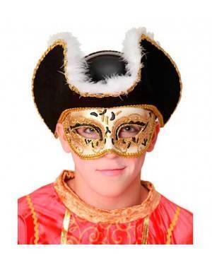 Maschera Veneziana Pirata per Carnevale