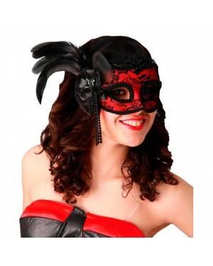 Maschera Veneziane con Piume