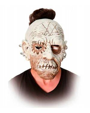 Maschera Zombie Punk in Lattice