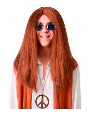Parrucca Hippie per Carnevale