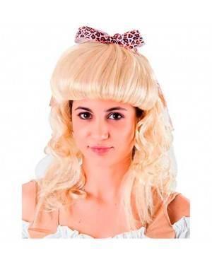 Parrucca Lunga Bambina Bionda per Carnevale