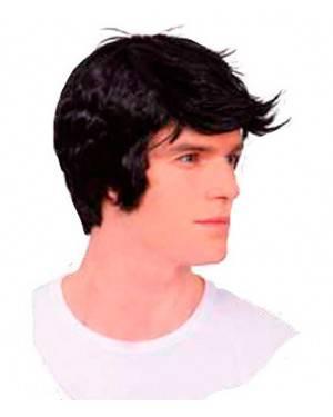 Parrucca Nera per Uomo