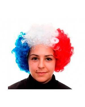 Parrucca Riccia Francia per Carnevale