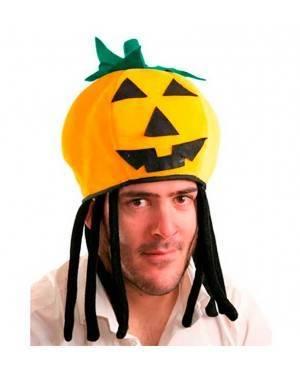 Reversibile Cappello Ragno/Zucca Per Adulti per Carnevale