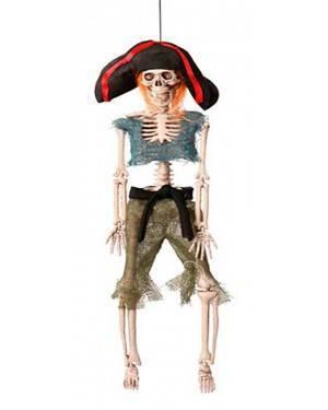 Scheletro Pirati 42cm per Carnevale