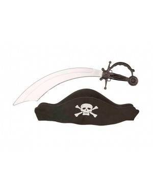 Set Pirata (3 unitá) per Carnevale