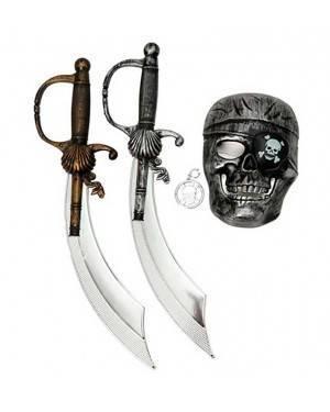 Set Pirata (3 Unità) per Carnevale