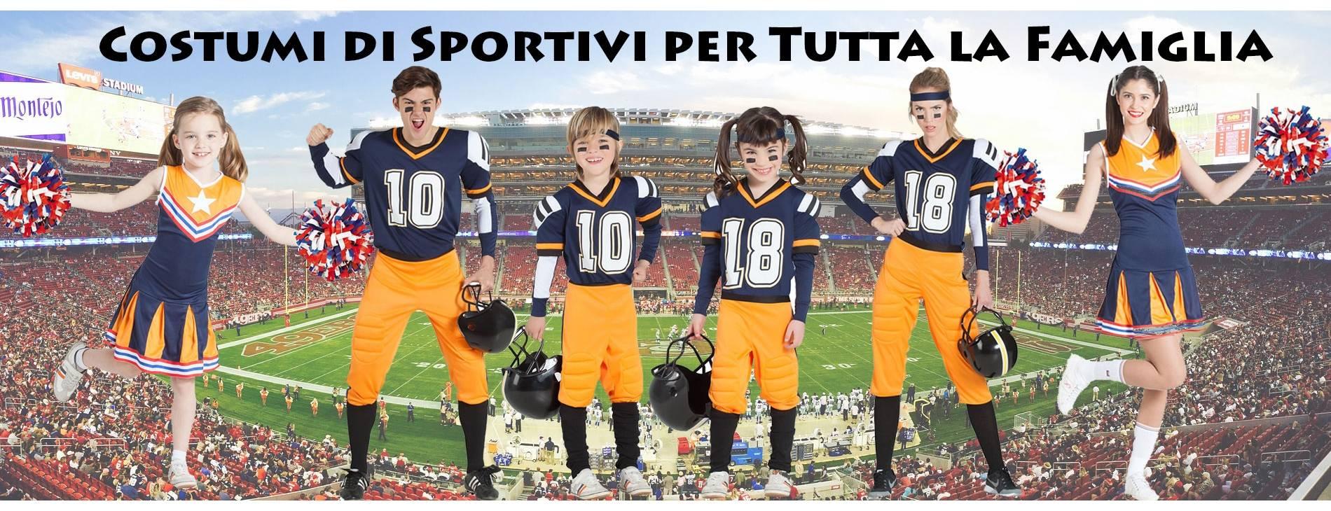 Costumi di Sportivi per Tutta la Famiglia