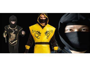 Costume Ninja Bambino o Bambina, non Solo Tartarughe