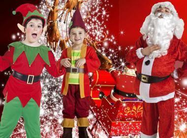 Costumi di Natale: Santa Klaus, folletti ed elfi originali