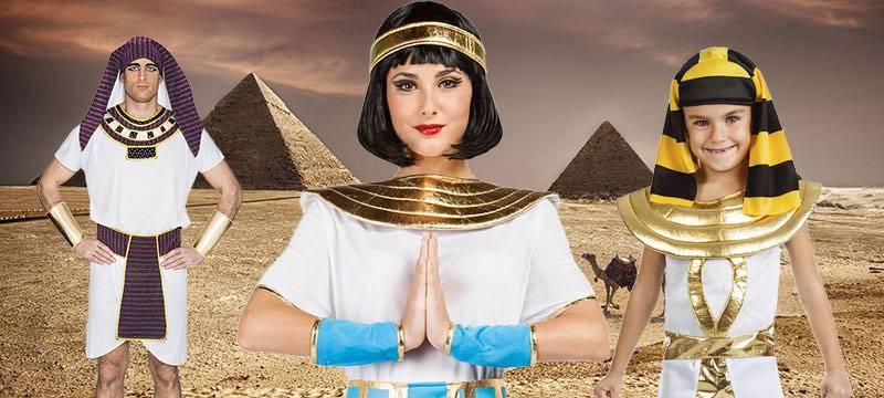 Costumi Egiziani: fare un Figurone Senza Spendere una Fortuna