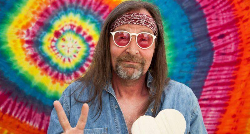 Vestito da Hippie anni 60